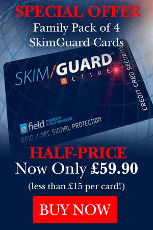 SkimGuard | RFID Skimming Blocker - Credit Card Protection